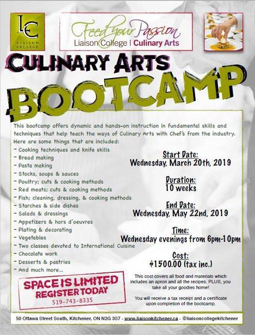 Culinary Boot Camp