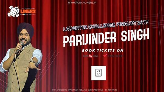 Punchliners Comedy Show Ft Parvinder Singh Live in Chandigarh