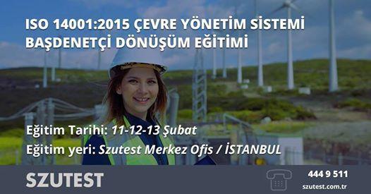 ISO 140012015 evre Ynetim Sistemi Badeneti Dnm Eitimi