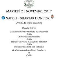 Men Speciale Napoli - Shaktar Donetsk a Villa Signorini