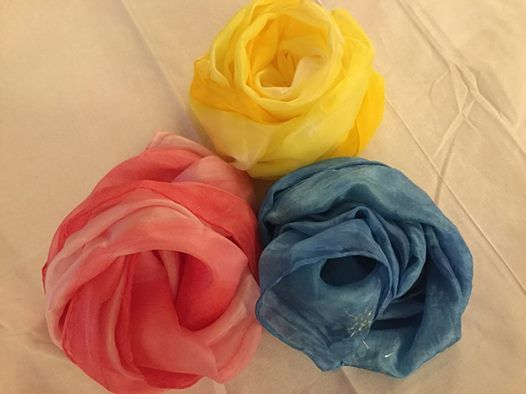Paint your own Silk Scarf with Deborah Woodland