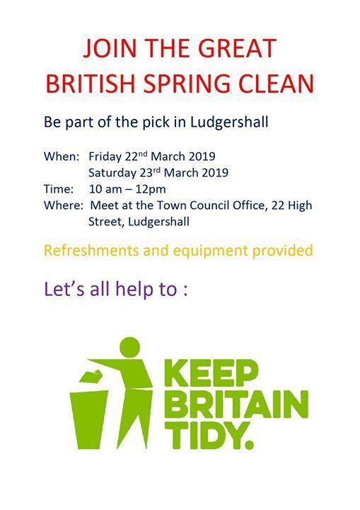 Keep Britain Tidy - Great British Spring Clean