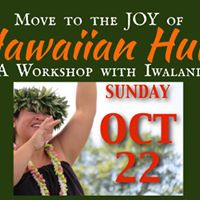 Hawaiian Hula Workshops with Iwalani