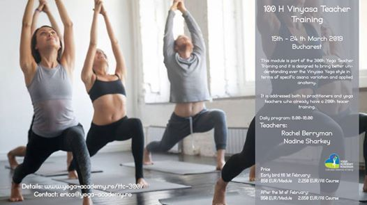 Curs Vinyasa Yoga 100 ore
