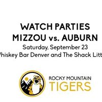 Mizzou-Auburn Watch Party at The Shack