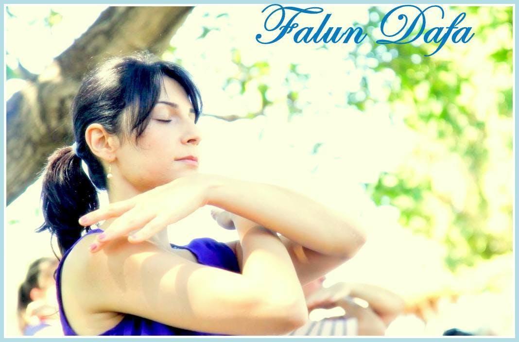Gratis Qigong Workshops Falun Dafa in Citadelpark Gent