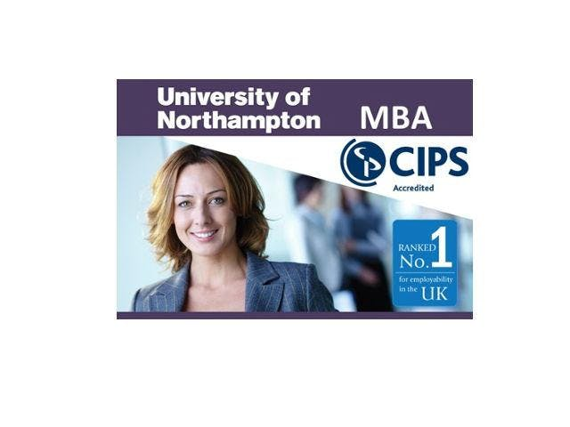 University of Northampton (CIPS Accredited) MBA Webinar for Lebanon Students - Meet University Professors