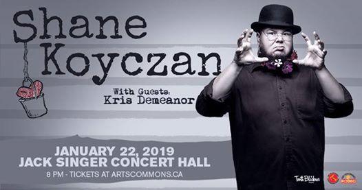 Shane Koyczan - January 22 at Jack Singer Concert Hall
