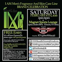 I AM Natural Fragrances And Skin Care For Men Launch Party