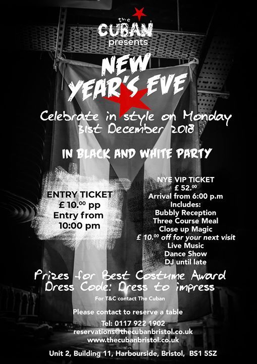 New Years Eve - Black & White Party