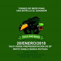 Atilano and Taco Verde Party