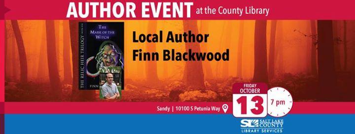 Local Author Finn Blackwood
