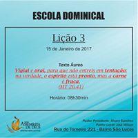 Escola Dominical - Bairro So Lucas
