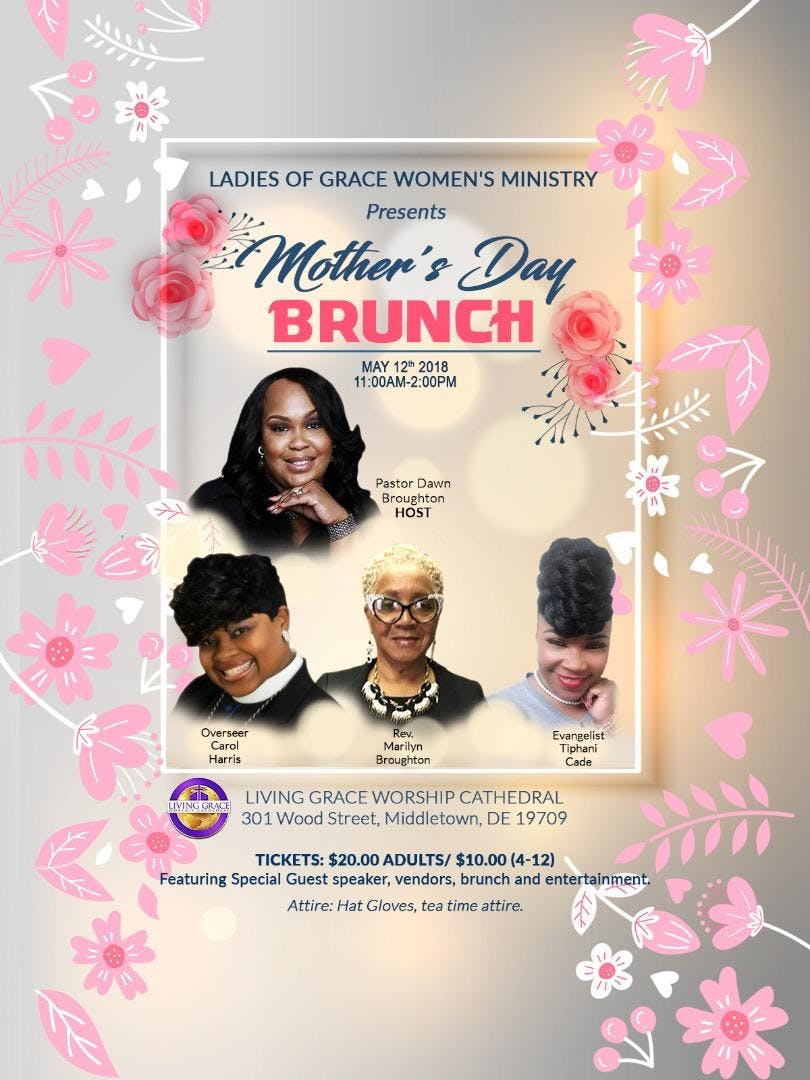 Ladies of Grace Mothers Day Brunch at 301, Middletown