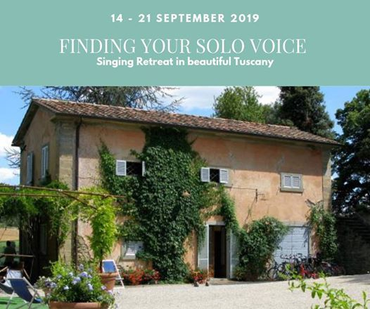 Finding your Solo Voice Tuscan Singing Course