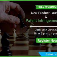 New Product Launch &amp Patent Infringement Risk
