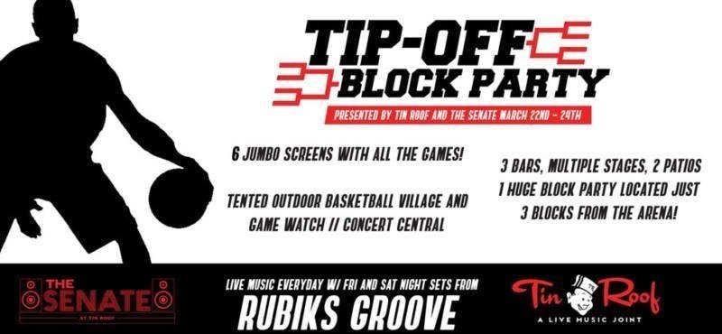 NCAA Block Party at Tin Roof