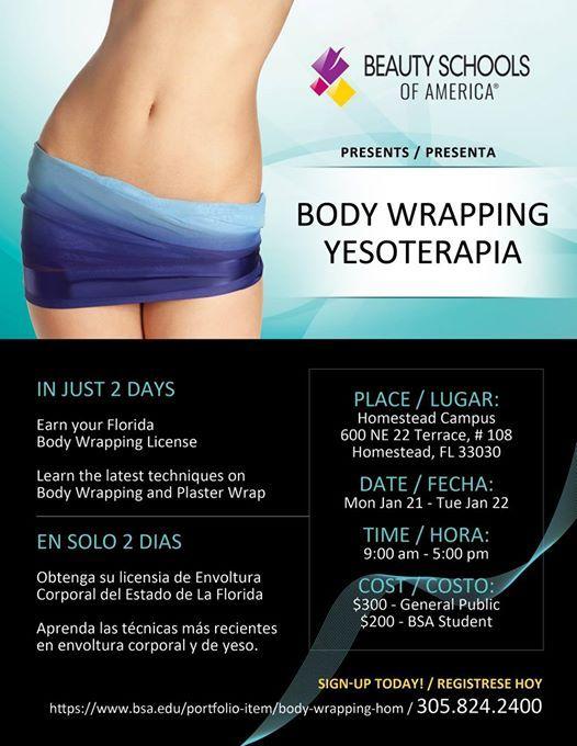 Body Wrapping Seminar