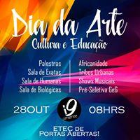 Dia da Arte Cultura e Educao
