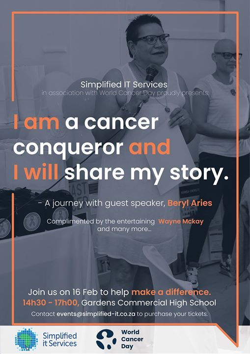 I am a Cancer Conqueror and I Will Share My Story