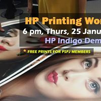 PSPJ Printing workshop by Hewlett-Packard Indigo
