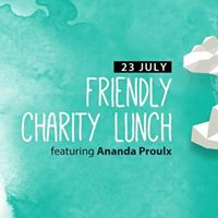 Friendly charity lunch with piano performance by Ananda Proulx