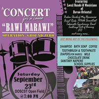 A Concert for A CAUSE &quotBawi Marawi&quot - OPERATION GROUND ZERO