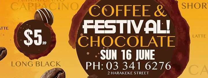 ChocoLatte Coffee and Chocolate Festival Chch