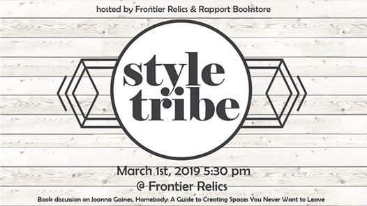 Style Tribe: Homebody Book Discussion at Frontier Auto