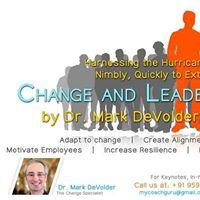 Change and Transition Program By Dr.Mark DeVolder