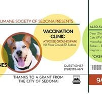 Humane Society of Sedona Vaccination Clinic