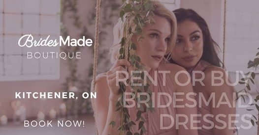 BridesMade Boutique Dress Fitting