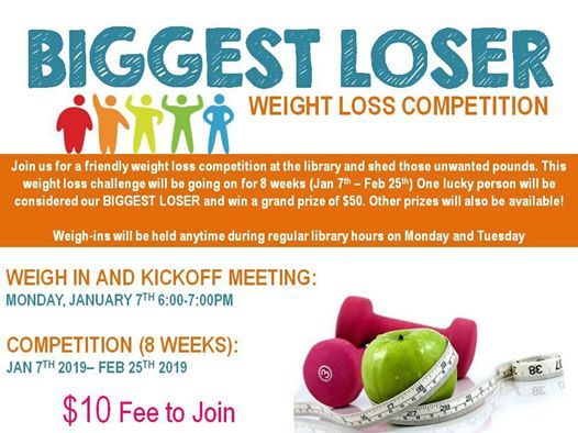 Biggest Loser Weight Loss Competition at Cedar Springs