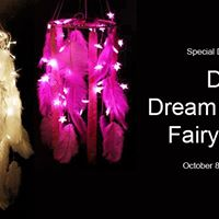 DIY Dream Catcher Fairy lamps - Diwali Edition
