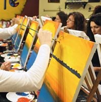 Wizardly Wine and Painting Trivia Night