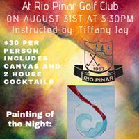 Paint Night at Rio Pinar Golf Club