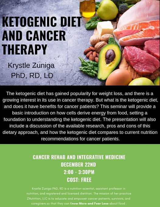 Ketogenic Diet and Cancer Therapy