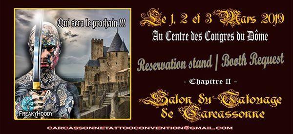 Carcassonne Tattoo Convention 2019 - Chapitre Il