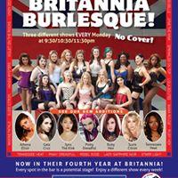 Britannia Burlesque-April 3rd