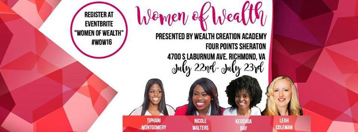 Women of wealth conference at four points by sheraton for Michaels arts and crafts virginia beach