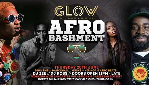 Afro Bashment at Glow Nightclub, Lancaster