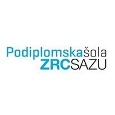 Podiplomska šola ZRC SAZU