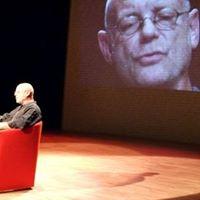 Voorstelling Pirandello met acteur Joop Keesmaat