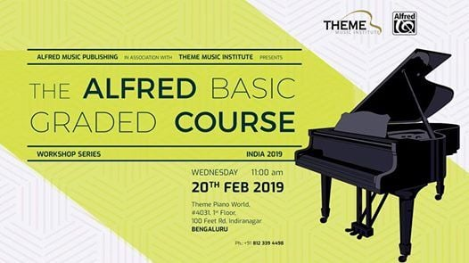 Alfred Basic Graded Course- Bengaluru