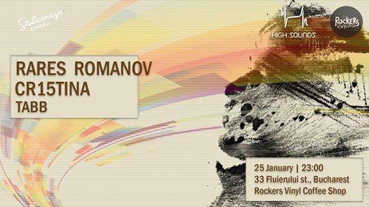 HS meets Rockers Vinyl Shop w Rares Romanov Cr15tina Tabb