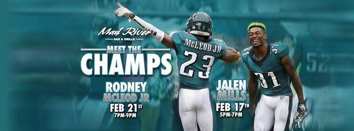 a721c103e4b Meet The Champs: Philadelphia Eagles #23 Rodney McLeod Jr. at Mad ...