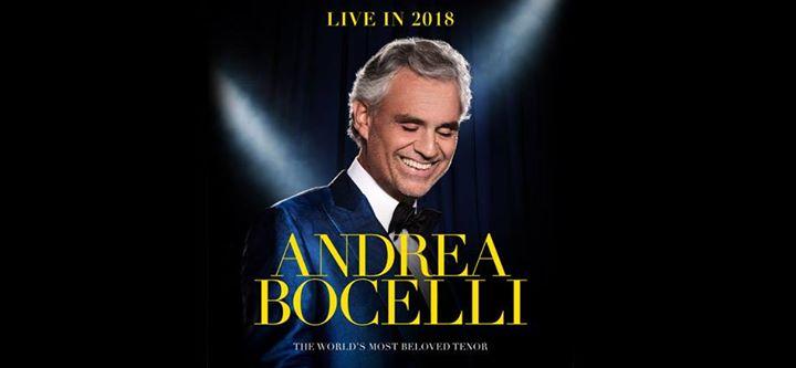 Andrea Bocelli at The O2 arena