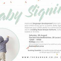 Baby Signing Workshop