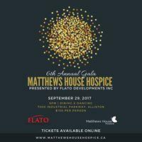 Matthews House 6th Annual Gala Presented by Flato Developments