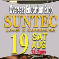 Overseas Education Expo Suntec Sat 19 Aug